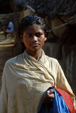 Adolescent Girl in rural India Stock Image