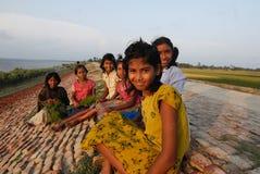 Adolescent Girls Stock Photo