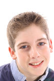 Adolescent headshot. Photo of a adolescent headshot Royalty Free Stock Photos