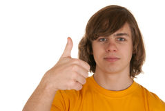 Adolescent heureux Photographie stock