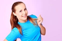 Adolescent heureux Images stock