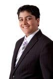 Adolescent indien dans un costume Image stock