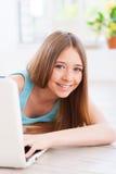 Adolescent insouciant Images libres de droits