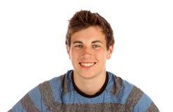 Adolescent posant pour l'appareil-photo. photographie stock