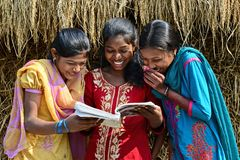Adolescent Rural Girl Royalty Free Stock Image