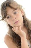 Adolescent thinking portrait Stock Photos