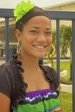 Adolescent tongan Image libre de droits