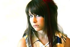 Adolescent triste Photos libres de droits