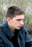 Adolescent triste Image stock