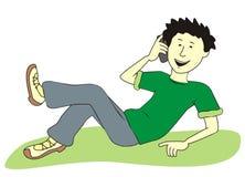 Adolescente illustrazione vettoriale
