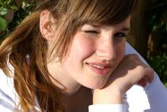 Adolescente. Foto de Stock
