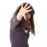 Adolescente abusada Fotos de archivo