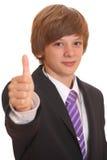 Adolescente acertado Imagen de archivo libre de regalías