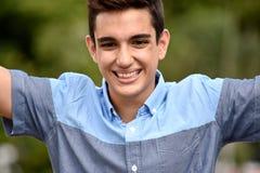 Adolescente acertado del Latino Foto de archivo