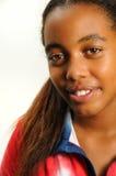 Adolescente africano dulce Imágenes de archivo libres de regalías