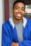 Adolescente afroamericano Imágenes de archivo libres de regalías