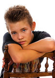 Adolescente agradable Imagen de archivo libre de regalías