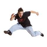 Adolescente agressivo Fotos de Stock Royalty Free