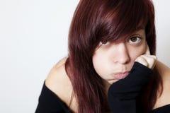 Adolescente agujereada Foto de archivo