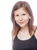 Adolescente aislado Imagen de archivo libre de regalías