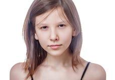 Adolescente aislado Imagenes de archivo