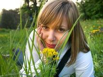 Adolescente al aire libre Imagen de archivo