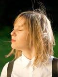 Adolescente al aire libre Imágenes de archivo libres de regalías