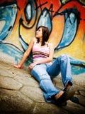 Adolescente al aire libre Fotografía de archivo