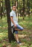 Adolescente al aire libre Imagenes de archivo