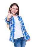 Adolescente alegre Fotografía de archivo libre de regalías