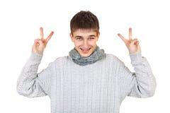 Adolescente alegre Imagen de archivo