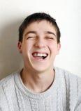 Adolescente alegre Foto de archivo libre de regalías