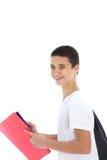 Adolescente alegre confidente Imagen de archivo libre de regalías