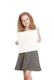 Adolescente alegre lindo en una seda gris Fotos de archivo libres de regalías