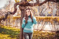 Adolescente alegre y feliz Foto de archivo libre de regalías