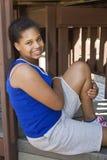 Adolescente alla sosta Fotografia Stock Libera da Diritti