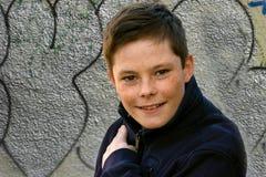 Adolescente amistoso Foto de archivo