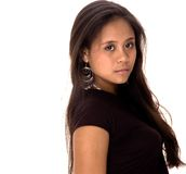 Adolescente asiático Imagem de Stock Royalty Free