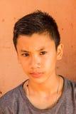 Adolescente asiático Fotografia de Stock Royalty Free