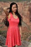 Adolescente asiático Foto de archivo libre de regalías
