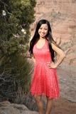 Adolescente asiático Foto de archivo