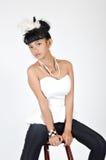Adolescente asiático atractivo Imágenes de archivo libres de regalías