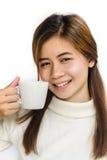 Adolescente asiático hermoso Foto de archivo libre de regalías