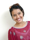 Adolescente asiático (série) imagem de stock royalty free