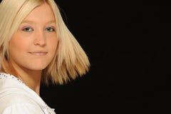 Adolescente assez blonde photos stock
