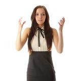 Adolescente asustada Imagen de archivo libre de regalías