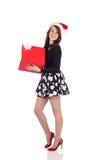 Adolescente atractivo con el presente Imagen de archivo libre de regalías