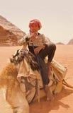 Adolescente beduino Fotografía de archivo