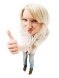 Adolescente blonde mignonne Photo stock