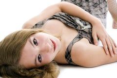 Adolescente bonito fotografia de stock